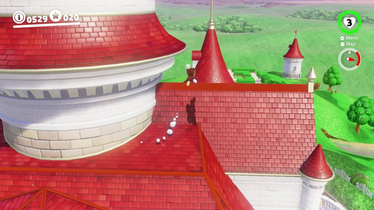 Super Mario Odyssey Mushroom Kingdom Moon 43 Princess Peach Home Agani