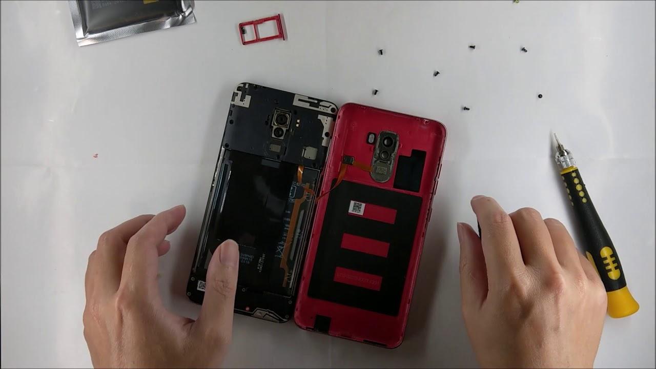 第一次拆小米f1 換電池 遇到的一些鳥事 - YouTube