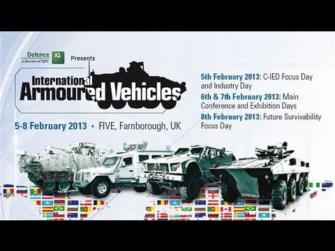 IAV 2013 International Armoured Vehicles Army Recognition  digital  daily  partner