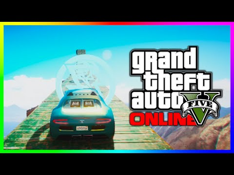 GTA 5 BIGGEST JUMP EVER?! - Unbelievable Airtime! (GTA V Extreme Canyon Jump)