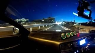 【360°VR動画】チェイサーで微妙な時間にドライブしながら独り言(/・ω・)/
