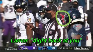 Titans Ravens 2020-21 Rivalry | Disrespect, Trash Talk & Big Hits