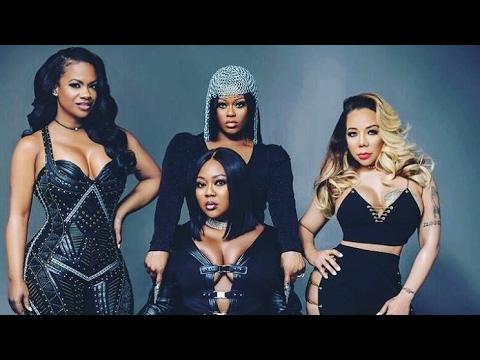 Kandi Burruss & Tamika Scott & Tameka Tiny Harris R&B group Xscape