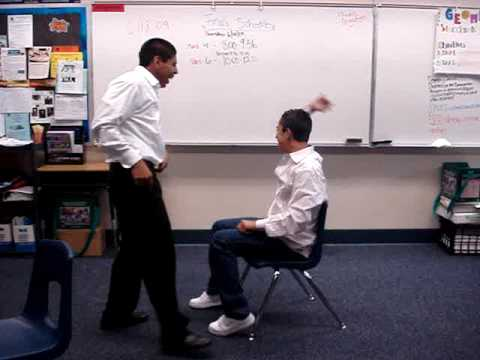 Musical chairs instead of math?