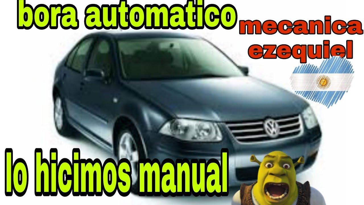 vw bora de automatico a manual 💥👍😉🏁