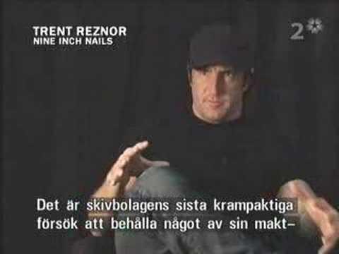 Nine Inch Nails - interview Swedish TV 2005