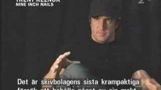 Nine Inch Nails - interview Swedish TV 2005