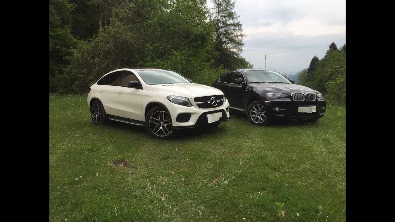 Mercedes Gle Coupe 350d Vs Bmw X6 Xdrive40d E71 Youtube