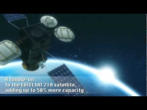 EUTELSAT 21B - Eutelsat's latest satellite. Launch 09/11/12