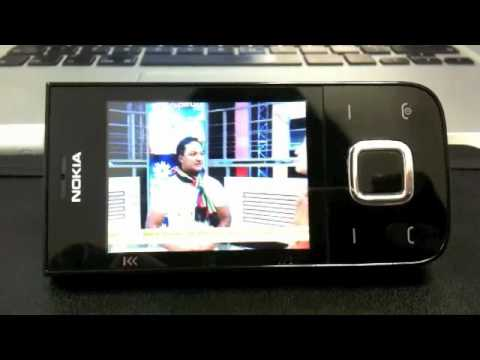 Watching TV on a Nokia 5330 handset