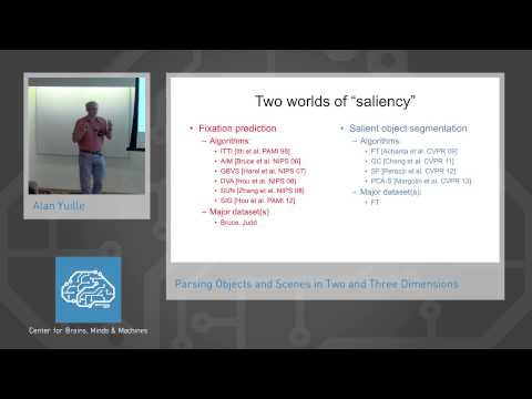 Parsing Objects and Scenes in Two and Three Dimensions