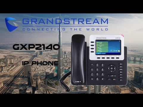 Grandstream GXP2140 IP Phone Dubai | IP Telephones UAE