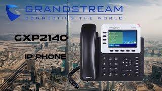 Grandstream GXP2140 IP Phone Dubai | IP Telephones UAE