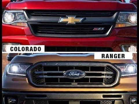 2019 Chevy Colorado Z71 Vs 2019 Ford Ranger Lariat