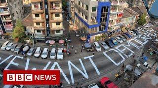 Myanmar coup: Facebook blocks military-run news site  - BBC News