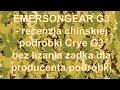 EMERSONGEAR G3 - recenzja chińskiej podróbki Crye G3 bez ...