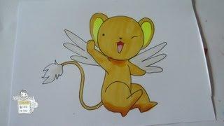 How to draw Kero (Cerberus) from Cardcaptor Sakura ケルベロス