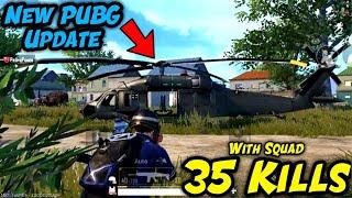35 Kills W Squad || PUBG MOBILE New Update || ANONYMOUS