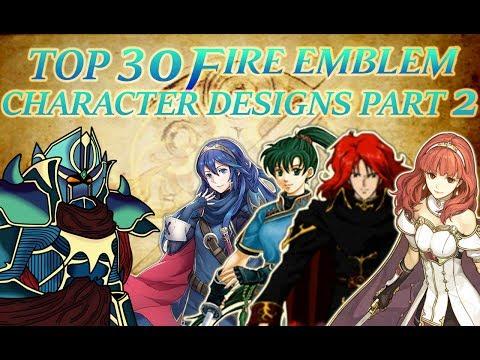 Top 30 Fire Emblem Character Designs Part 2 (15-1)