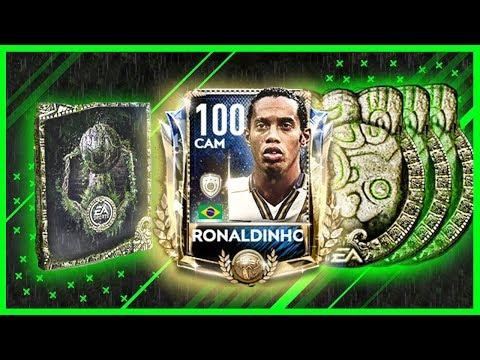 RONALDINHO'YA AZ KALDI ! 3 YADİGAR ÇIKTI ! FIFA MOBILE