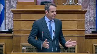 Ομιλία Κυριάκου Μητσοτάκη στην Κ.Ο. του Κόμματος