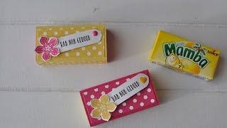 mamba matchbox mit stampin up