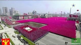 Парад КНДР 2017