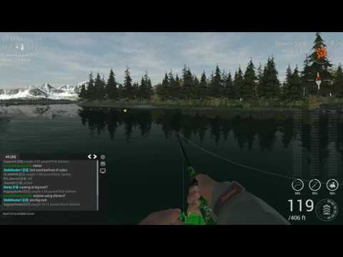 Fishing Planet - Let's Find The Fish Together! - Alaska - We find Chinook & Pink Salmon!