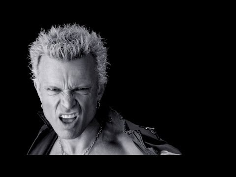 Billy Idol - Rat Race Lyrics Video