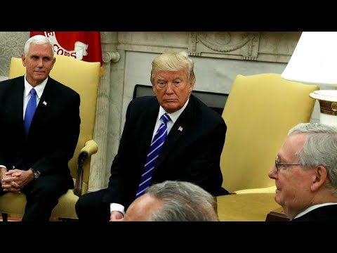 President Trump meets with Pelosi, Schumer on DACA