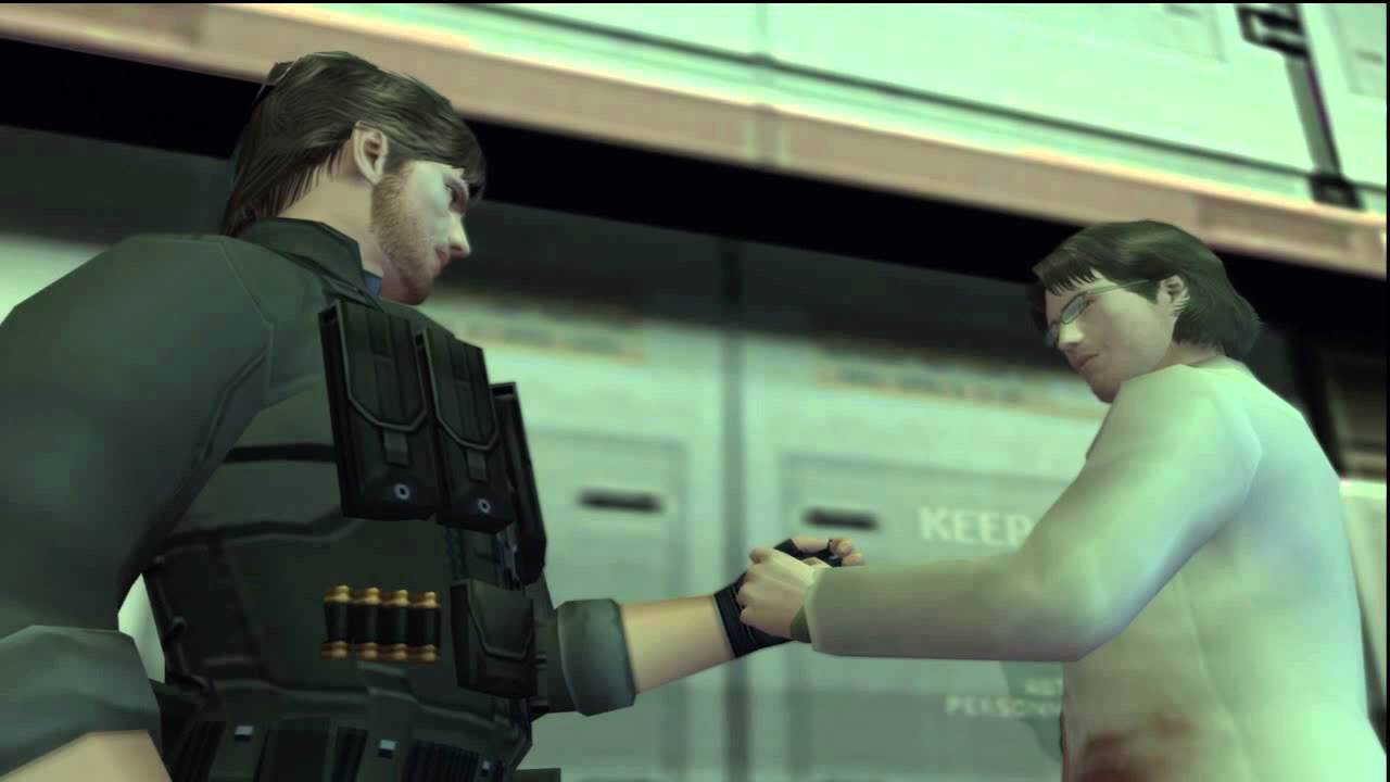 Image result for metal gear snake otacon
