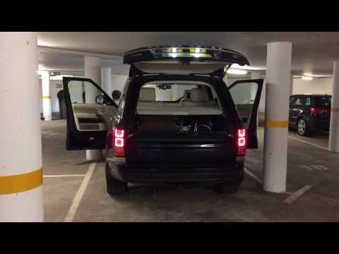 Range Rover Meridian Signature Reference Sound System 3D 1700w 29 speakers car park factory settings
