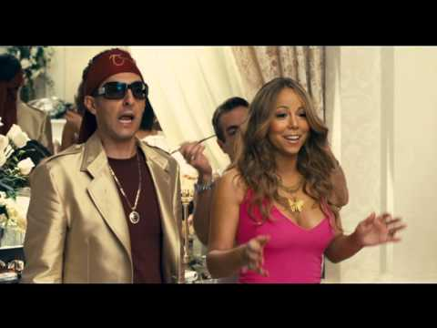 Zohan vs Phantom in the dressing room Mariah Carey ... мэрайя кэри