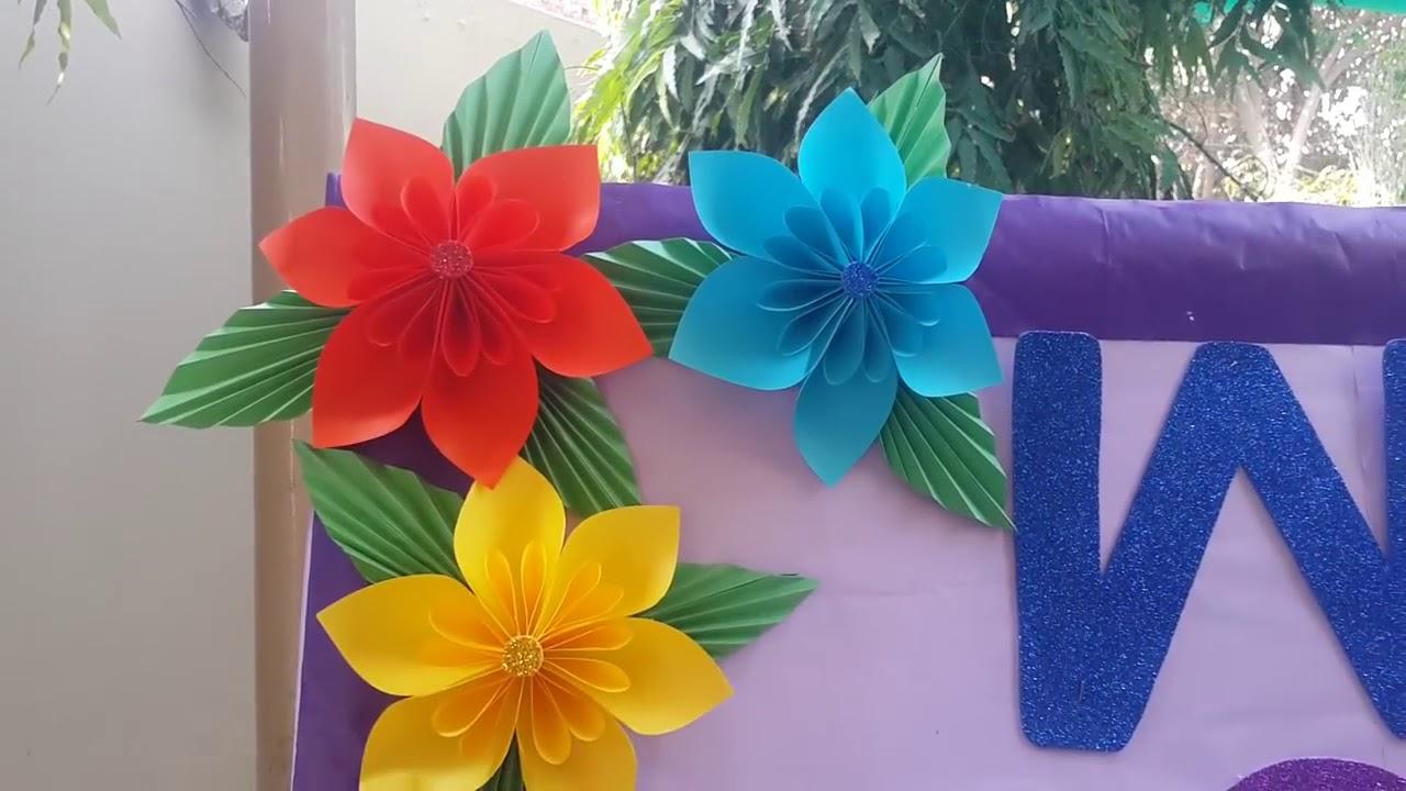 Bulletin Board Idea For School School Decoration Art And Craft