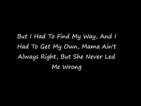 August Alsina - Mama(Lyrics)