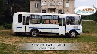 Аренда автобуса ПАЗ 30 мест | Трансфер Престиж Киров