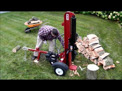 GB28T25 28 Ton Gas Log Splitter