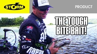 Catch more bass when the bite is tough with the Storm® Arashi® Spinbait