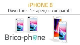 iPHONE 8 : ouverture - présentation & comparatif avec l'iPhone 7