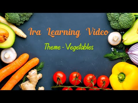 Vegetable Names with Pictures | Different Types of Vegetables | Vegetable Names In English