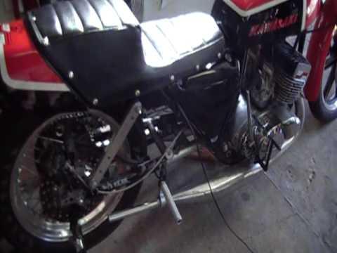 Kawasaki H2 750 Drag Bike Sold