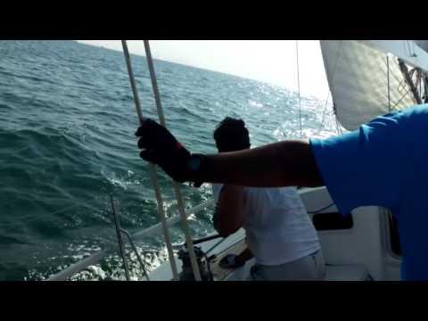Kuwait to Dubai Sailing trip