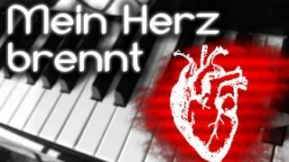 Mein Herz Brennt (Rammstein) Piano Version [Cover]