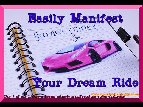 #DreamsDoComeTrue - Easily Manifest A Car!