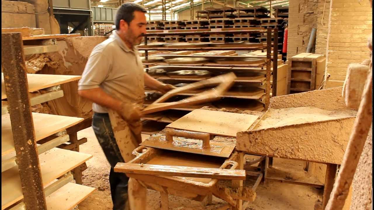 Proceso de elaboraci n de baldosa artesanal de terracota - Baldosas de terracota ...