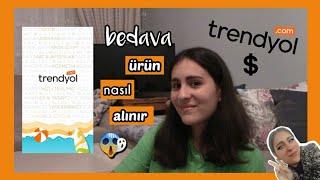 TRENDYOL'DAN BEDAVA ÜRÜN NASIL ALINIR? 😰| 0 TL İLE & 3 ADIMDA ¿ gercekten oluyor screenshot 1