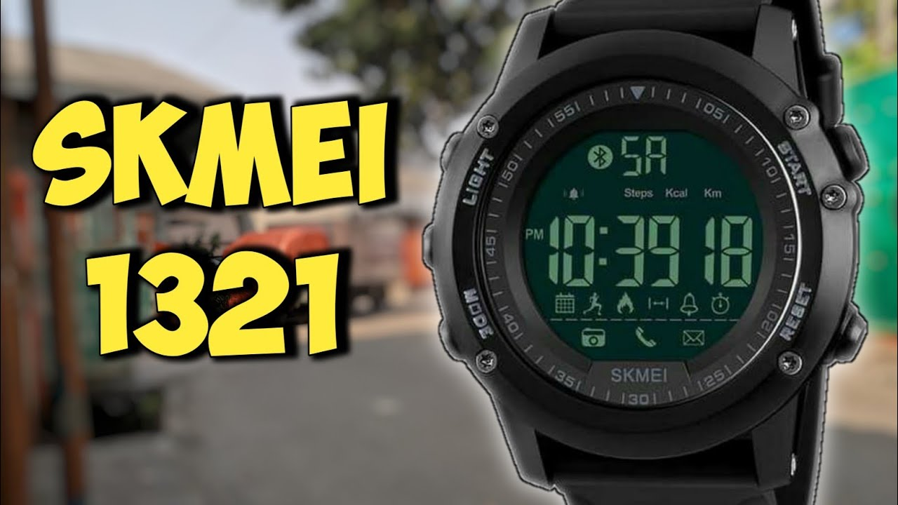 Skmei 1321 Smartwatch Unboxing Review Setup Indonesia Youtube