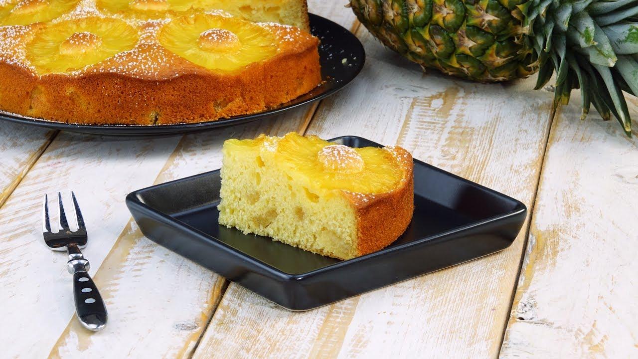 Saftig Lockerer Ananaskuchen Besticht Durch Seine Einfachheit Youtube