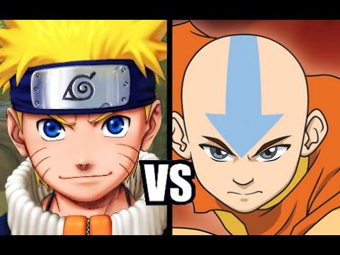 Naruto VS Aang