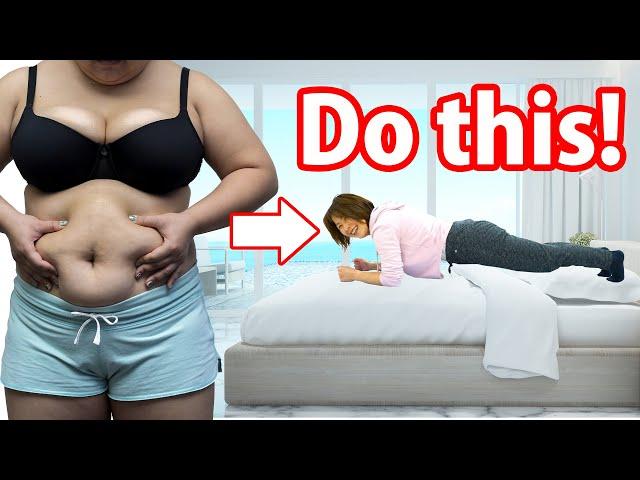 【5分】40代向けポッコリお腹解消運動!プランク+ワイドスクワットを30秒×10セット! | Muscle Watching